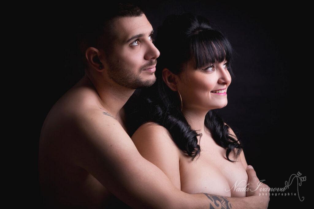 Photo De Couple En Studio Par Nada Ivanova