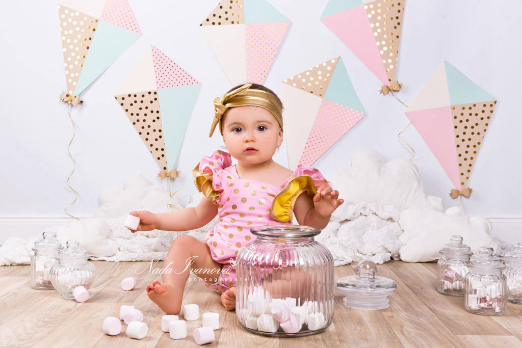 photographe anniversaire petite fille sommiere