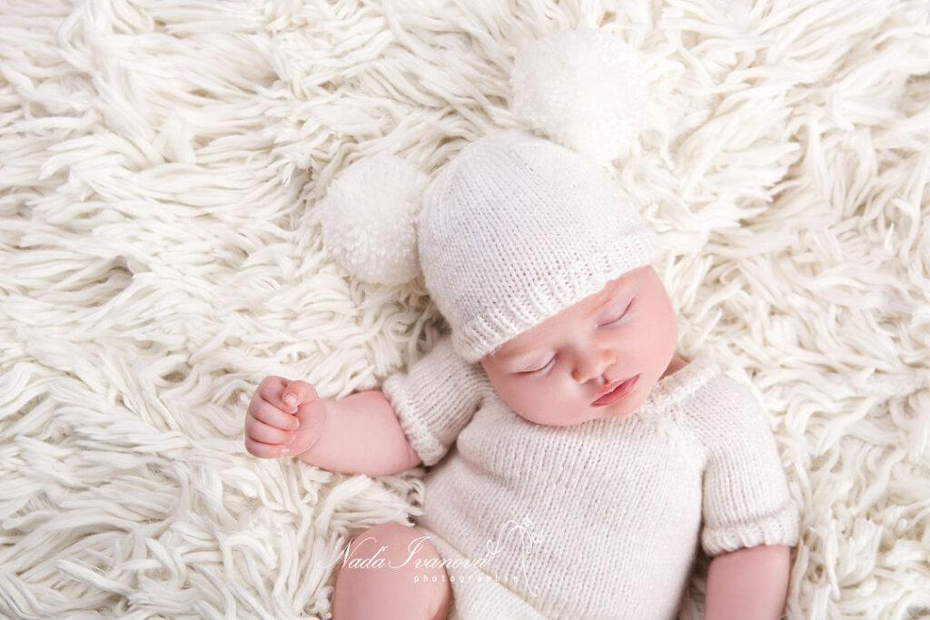 photographe bebe beziers bonnet blanc