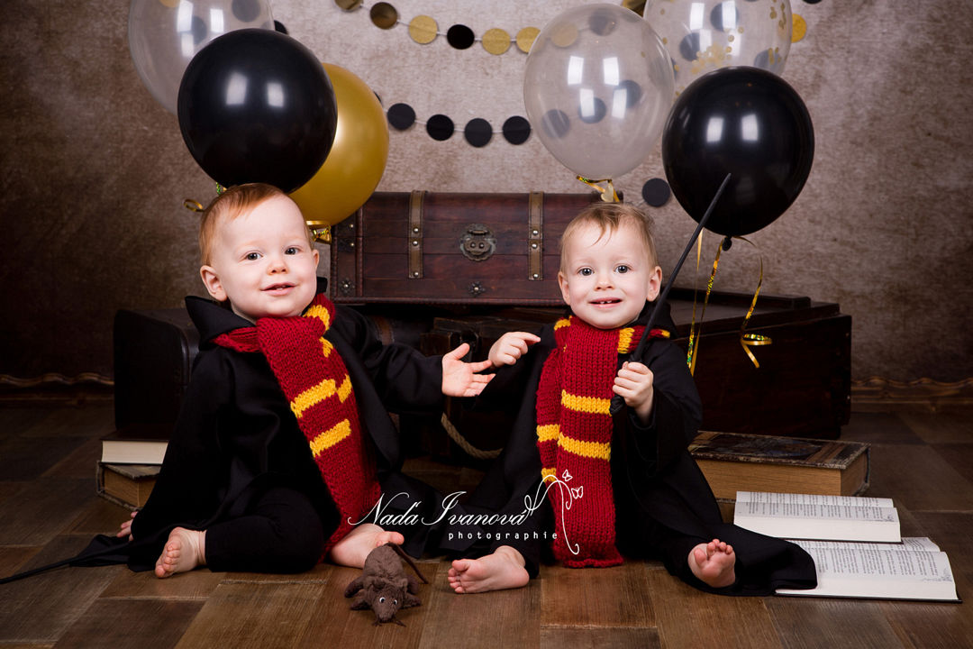 photo bebe Ron Weasley Hermione Granger