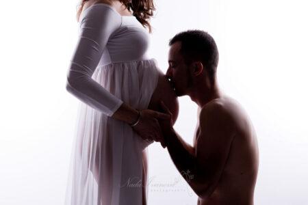 photo grossesse avec papa 1