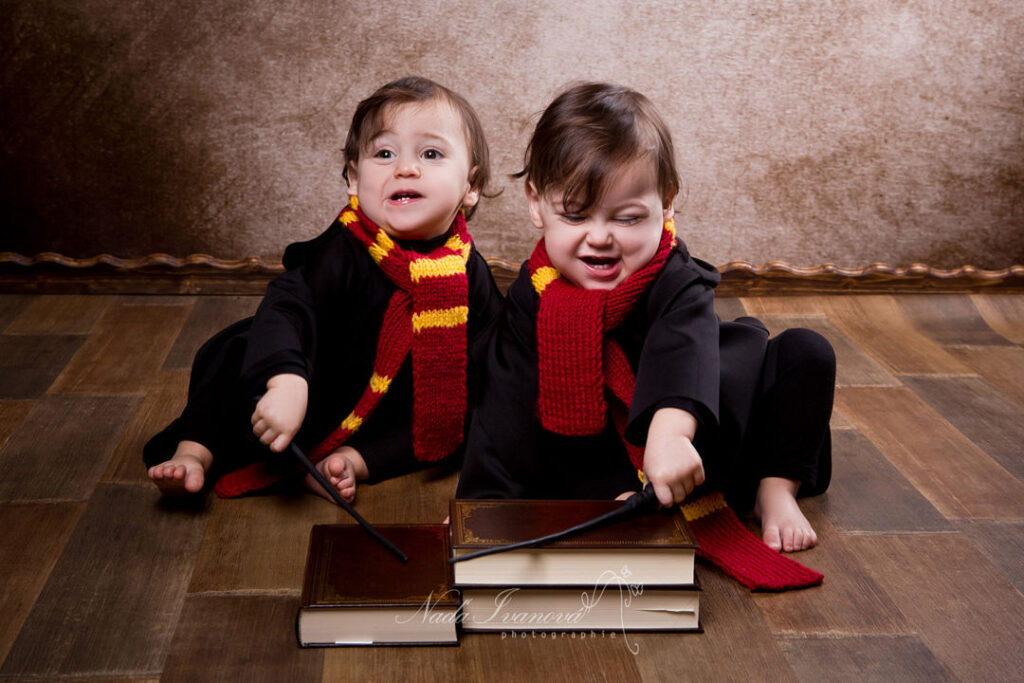 Photographe bebe beziers theme harry potter