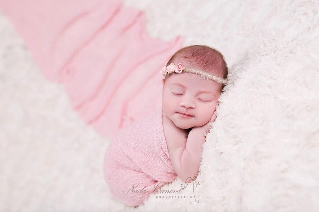 photo de bebe realise par la photographe nada ivanova